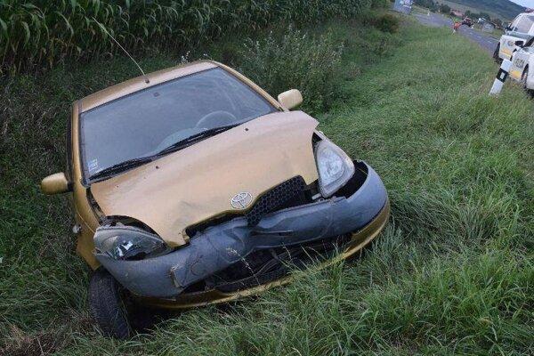 Opitý vodič nezvládol jazdu.