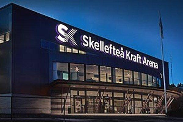 Kraft Arena v meste Skelleftea má kapacitu 6001 divákov.