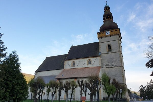 Gotický kostol v Štítniku.