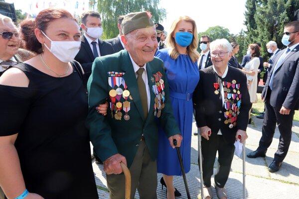 Poctu Vladimírovi Strmeňovi dnes vzdala aj prezidentka Zuzana Čaputová.