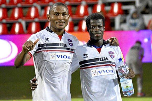 Dve africké posily - Tawamba i Bamba - skórovali hneď vo svojom prvom ligovom zápase za FC ViOn.