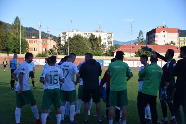 Porada Kysučanov pred penaltovým rozstrelom s Krásnom.