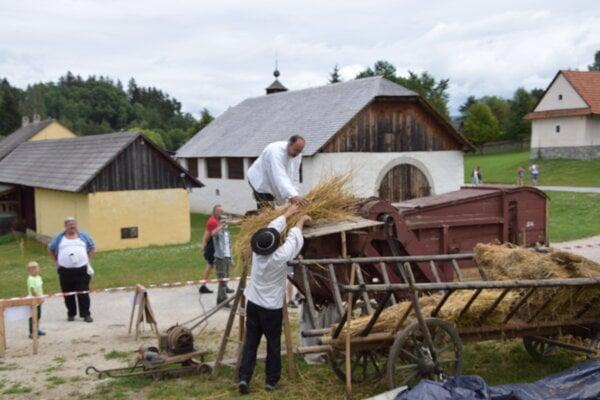 Aj takéto boli dožinky v Múzeu slovenskej dediny v Martine.