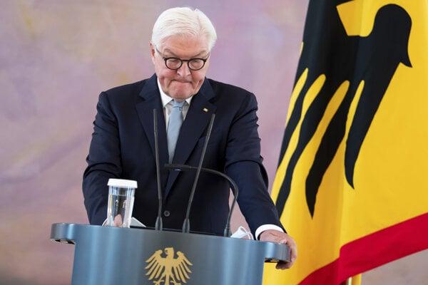 Nemecký prezident Frank-Walter Steinmeier.