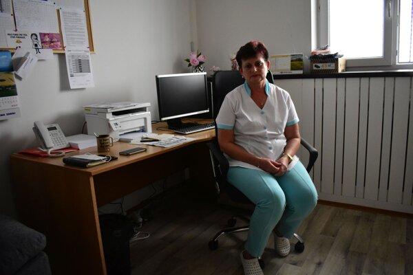 Vedúca záchranárov v Považskej Bystrici, Melánia Dolníková
