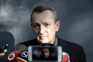 Patrik Pachinger po prepustení na slobodu.