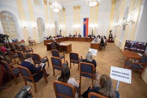 Vypočutie kandidátov na sudcu Ústavného súdu.