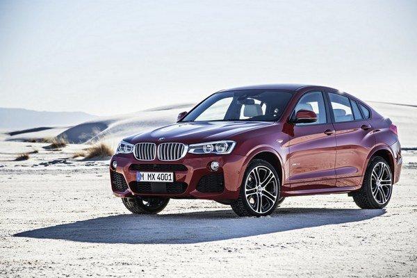 """BMW predstavilo model X4 ako dostupnejšiu alternatívu k modelu X6. Model X2 by mohol podobne zaplniť medzeru v modelovom rade """"X""""."""