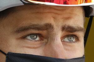 Peter Sagan pred štartom 15. etapy.