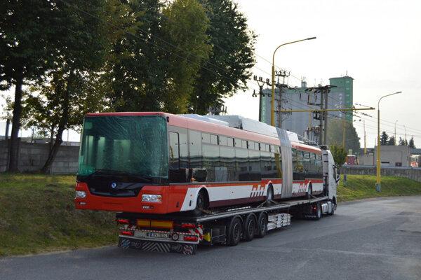 Nový prešovský trolejbus.