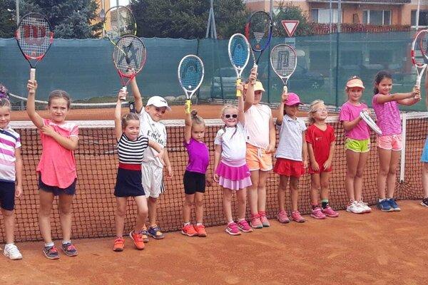 Najmenšie tenisové detičky.