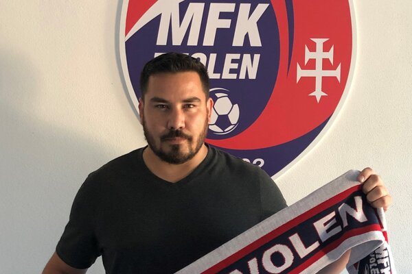 Nový tréner MFK Zvolen Lukáš Luknár.