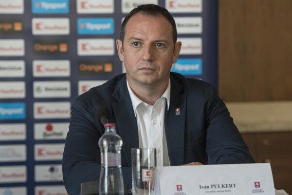 Generálny sekretár Slovenského zväzu ľadového hokeja Ivan Pulkert.