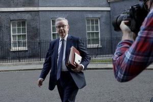 Michael Gove, britský minister poverený prípravami na brexit.