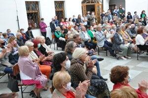 Vernisáž k 55. výročiu Oravskej galérie.