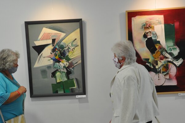 Výstava Ferdinanda Hložníka v Art galérii Schürger.