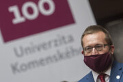 Rektor Univerzity Komenského v Bratislave Marek Števček.