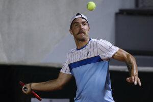 Andrej Martin na Roland Garros.