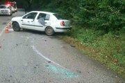 Vodič sa po havárii pri Plešivci sťažoval na bolesti chrbtice.