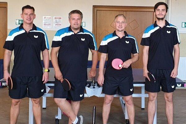 Zľava: Martin Gajdoš, Erik Illáš, Branislav Hermann a Patrik Bučko.