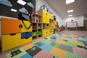 Takto to vyzerá v priestoroch škôlky.