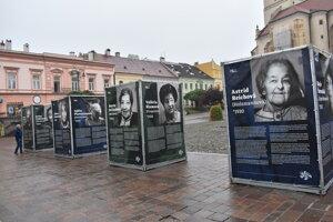 Výstava Post Bellum v Prešove.