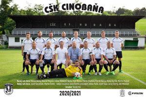 CŠK Cinobaňa 2020/21.
