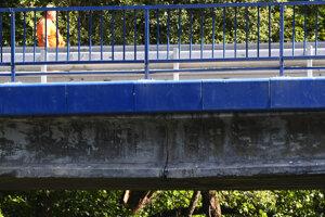Most medzi Kysakom a Veľkou Lodinou je v havarijnom stave.
