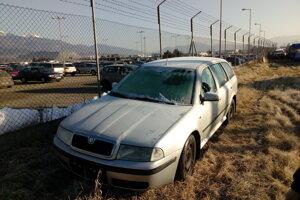 Odpredaj cestného motorového vozidla zn. ŠKODA OCTAVIA. Vyvolávacia cena 1400 eur.