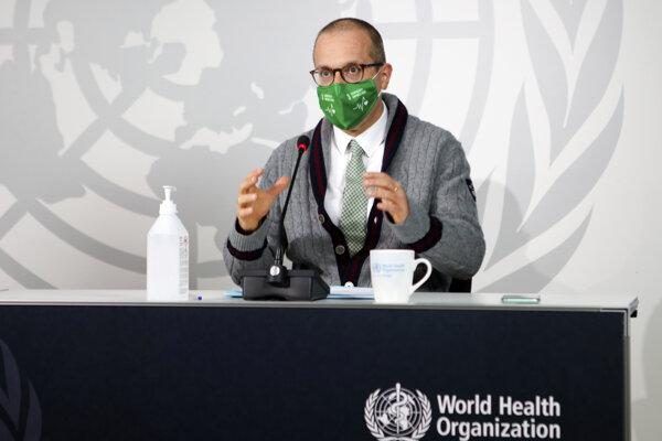 Šéf sekcie WHO pre Európu Hans Kluge.