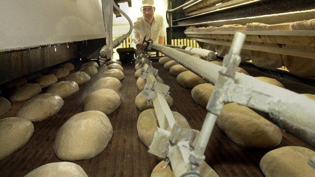 Snímka z pekárne Medea z roku 2004.