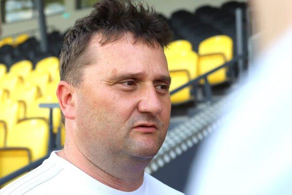 Igor Rozenberg, predseda predstavenstva FK Pohronie Žiar nad Hronom Dolná Ždaňa.