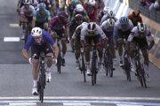 Arnaud Démare víťazí v 6. etape na Giro d'Italia 2020, Peter Sagan končí ôsmy.