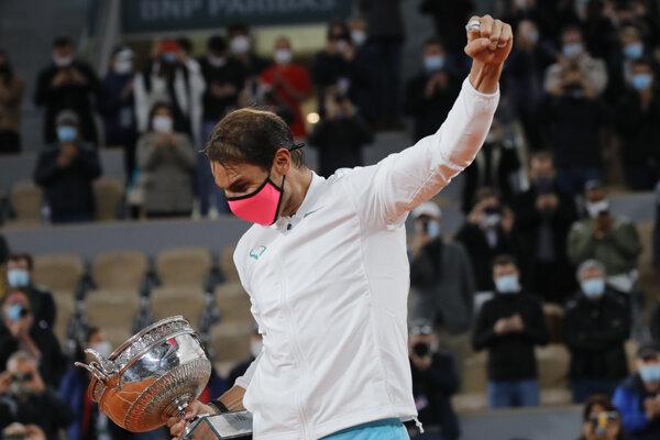 Rafael Nadal vyhral Roland Garros 2020.