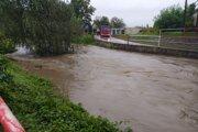Rieka Handlovka v Prievidzi. Ilustračné foto.