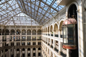 Historická budova pošty vo Washingtone.