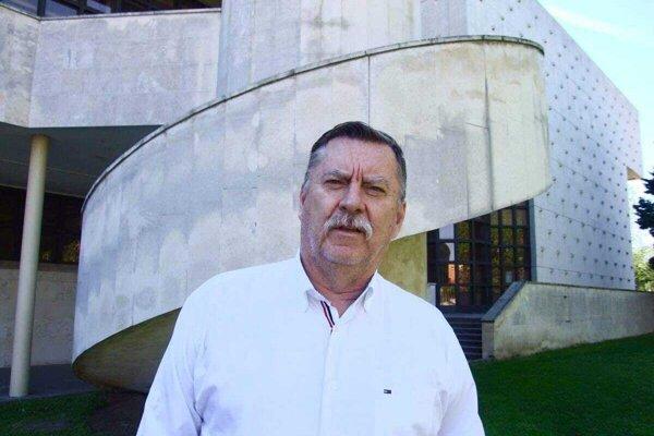 Riaditeľ DAB Jaroslav Dóczy.