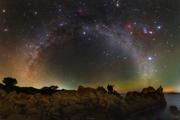 Koľko známych vesmírnych objektov na fotke nájdete? Fotka Tomáša Slovinského sa už tretíkrát za posledný rok stala Astronomickou snímkou dňa NASA.
