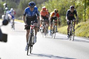 Ben O' Connor (vľavo) vyhral 17. etapu na Giro d'Italia 2020.