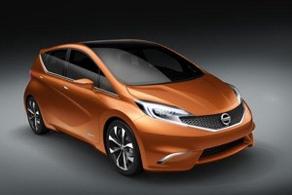 Tvary štúdie Invitation približujú budúcu podobu kompaktného Nissanu. Na trh príde o rok.
