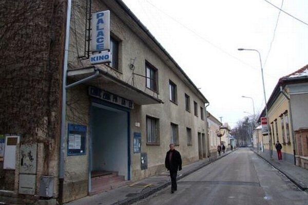 Kino Palace na Radlinského ulici.