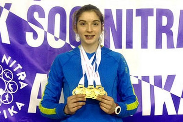 Emma Zapletalová z ŠK ŠOG suverénne vyhrala tri najkratšie behy.