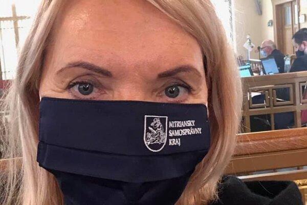Podžupanka Eva Antošová.