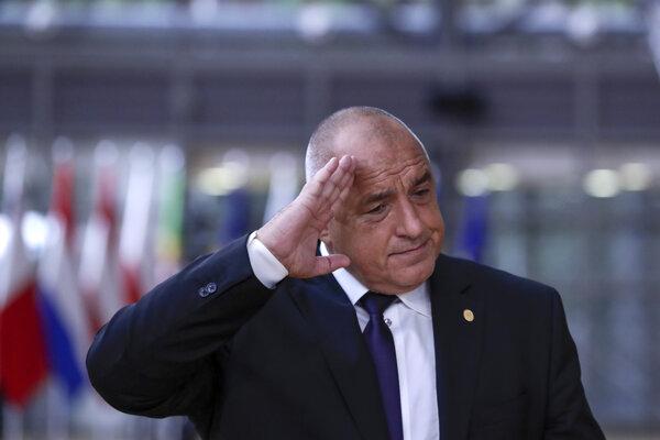 Bulharský premiér Bojko Borisov.
