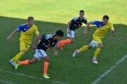 Momentka z víťazného zápasu Kováčovej proti Lučencu.