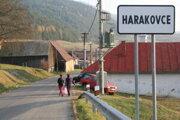Obec Harakovce. Žije tu 59 ľudí.