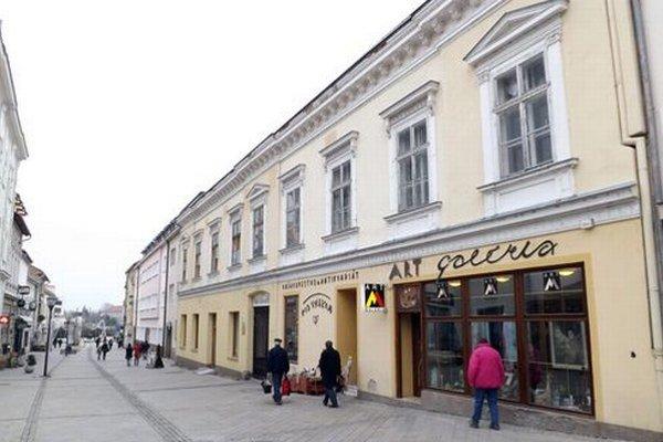 Časť budovy na Kupeckej 7 je prázdna.