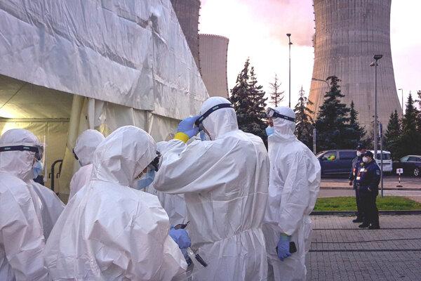 V mochovskej elektrárni testovali v piatok 30. októbra.