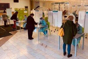 Testovanie v levickej nemocnici.