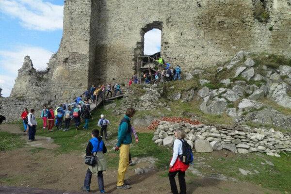 Kapušiansky hrad.